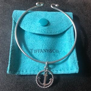 Tiffany & Co anchor ⚓️ charm and bracelet